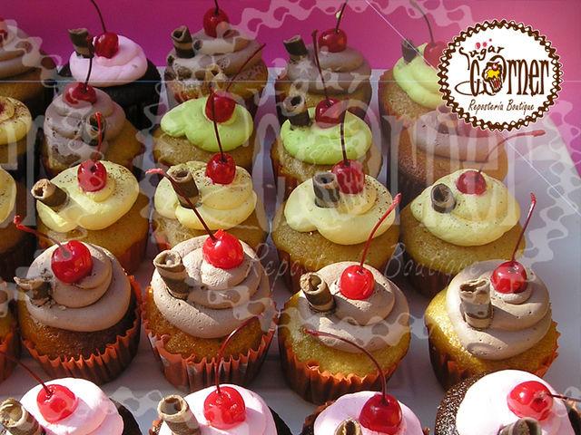 cupcakes gourmet - Sugar Corner Pastelería Boutique